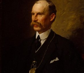 Llewellyn, William; Portrait of Sir Aston Webb, P.R.A.; https://www.royalacademy.org.uk/art-artists/work-of-art/O2337  Credit line: (c)  (c) Royal Academy of Arts / Photographer credit: Prudence Cuming Associates Limited /
